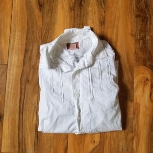 Vintage Red Eagle Button Down